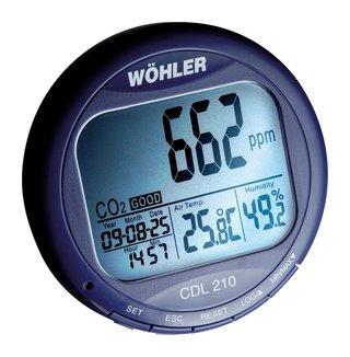 Koldioxidlogger CDL 210
