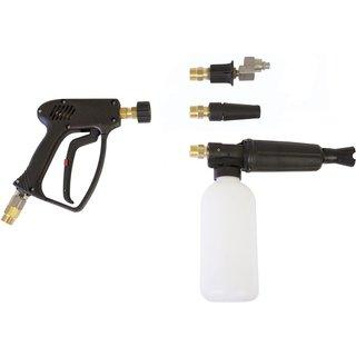 Högtryckspistol med svirvel